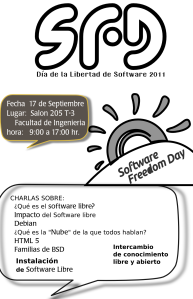Software Freedom Day 2011